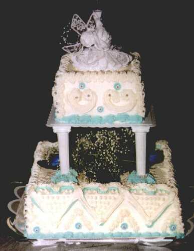Svatební dorty - patrovy