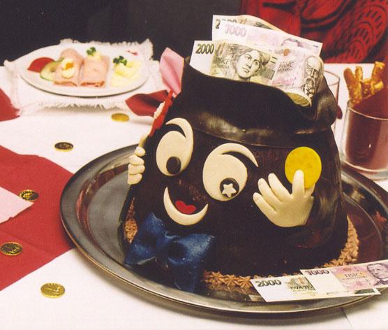 Svatební dorty - kasička