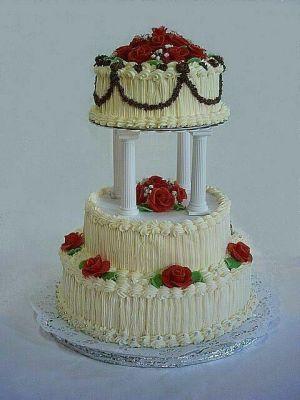 Svatební dorty - maslovy