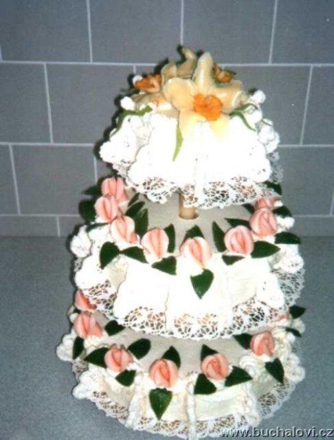 Svatební dorty - Obrázek č. 41
