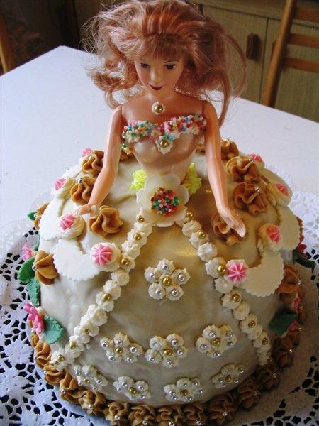 Svatební dorty - panenka