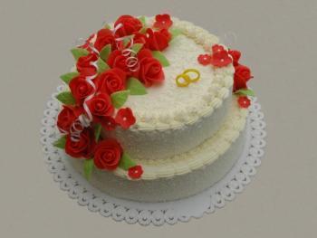 Svatební dorty - klasika