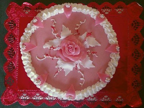 Svatební dorty - ruzickova