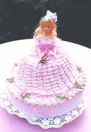 Svatební dorty - dort panenka