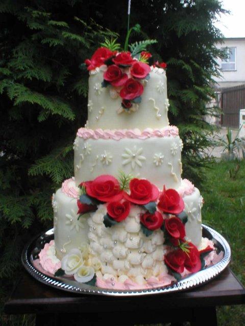 Svatební dorty - Obrázek č. 70