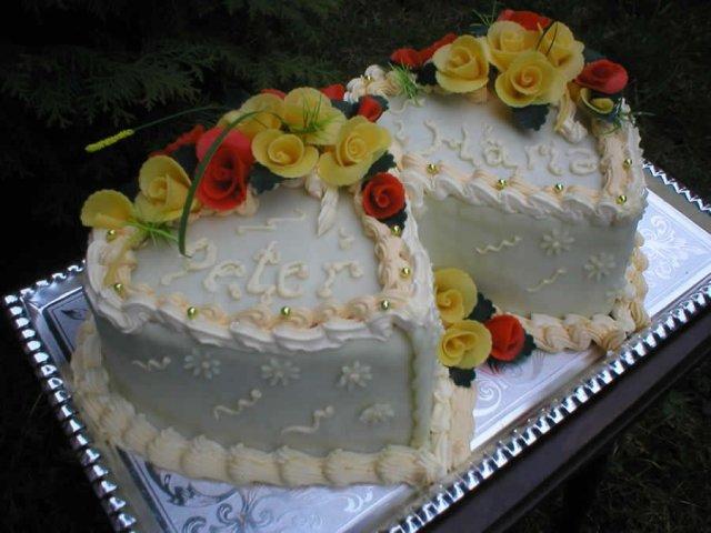 Svatební dorty - Obrázek č. 71