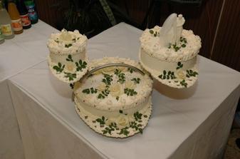 svadobná torta, bola fakt super :-)