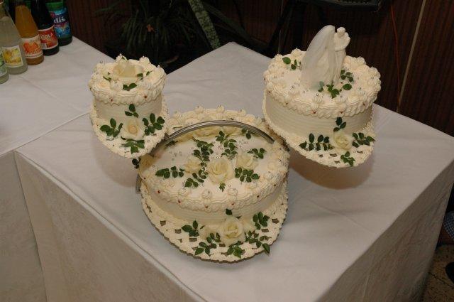 Svatební dorty - váhy