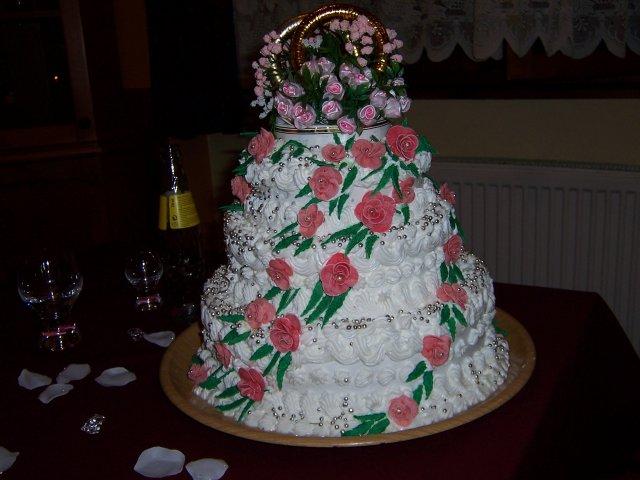 Svatební dorty - Obrázek č. 87