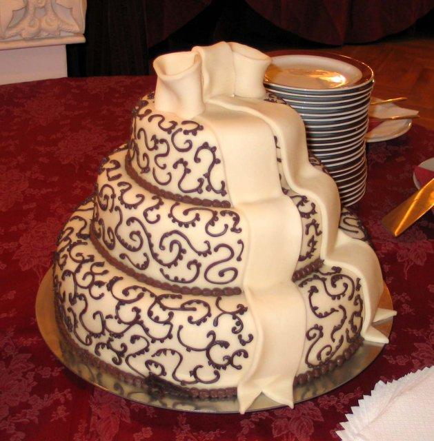 Svatební dorty - Obrázek č. 88