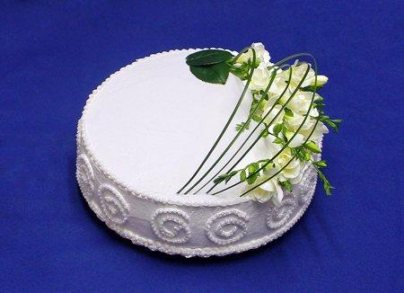 Svatební dorty - kulaty