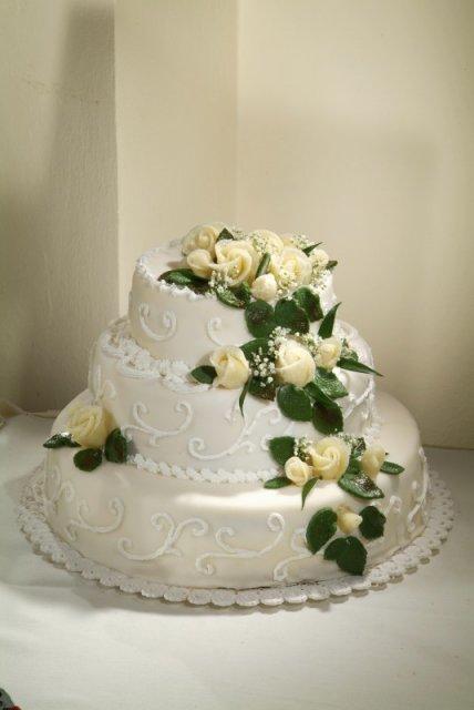 Svatební dorty - Obrázek č. 98