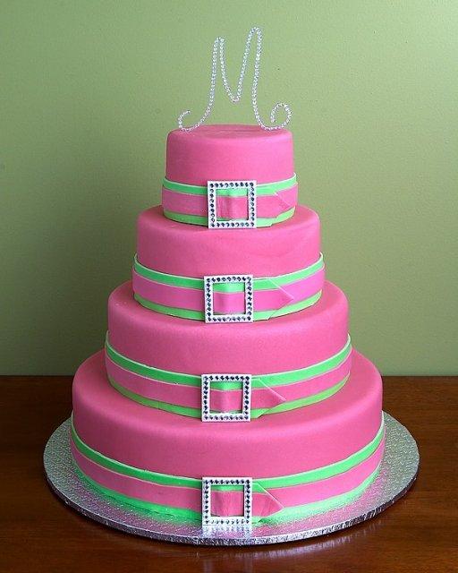 Svatební dorty album č. 2 - extravagantní dort