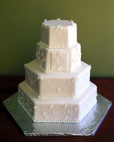 Svatební dorty album č. 2 - pětihran