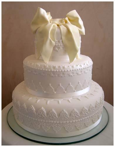 Svatební dorty album č. 2 - jemny bily