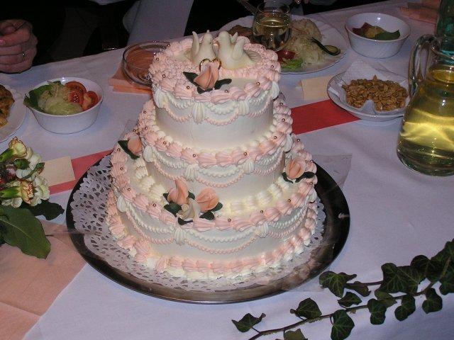 Svatební dorty album č. 2 - s holubičkama