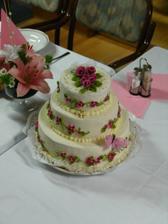 Svatební dort/ Wedding cake