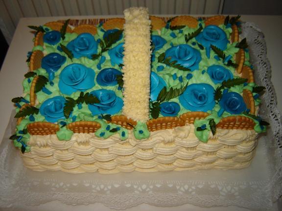 Svatební dorty album č. 2 - dort košík