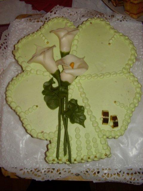 Svatební dorty album č. 2 - čtyřlístek