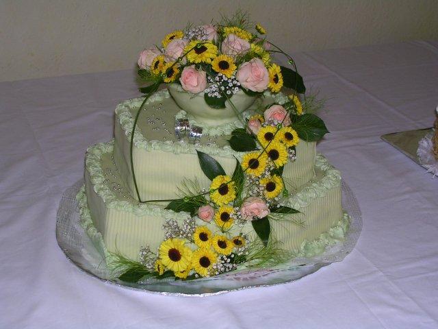 Svatební dorty album č. 2 - květinový
