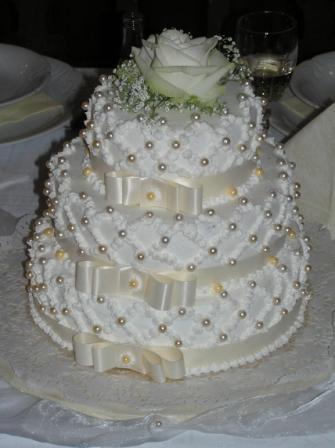 Svatební dorty album č. 2 - Mašličkový
