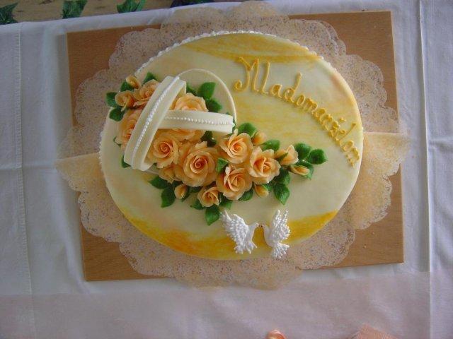 Svatební dorty album č. 2 - Obrázek č. 65