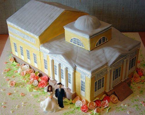 Svatební dorty album č. 2 - svatební kostel
