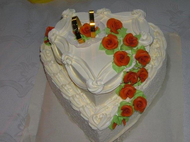 Svatební dorty album č. 2 - srdíčko
