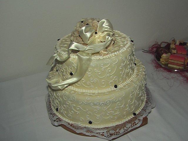 Svatební dorty album č. 2 - dortík
