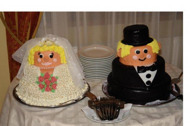 Svatební dorty album č. 2 - nevěsta a ženich