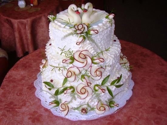 Svatební dorty album č. 2 - krásný patrák