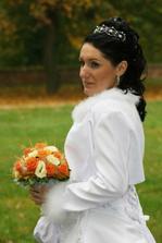 zasněná nevěsta...