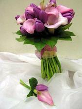 moja kytica len bielimi tulipanmi