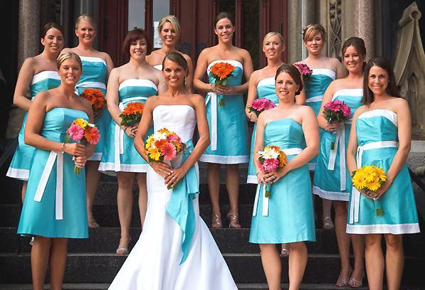 Tyrkysova svadba 2011 - nieco pre druzicky