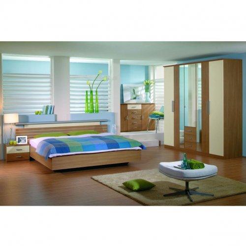 Úsilie o útulný a teplý domov - inšpirácie - tyrkysovo-zelena farba v spalni
