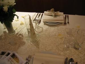 Takhle bude vypadat naše svatební tabule