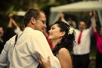 Náš první tanec - All of me - John Legend..........:) ten pocit štěstí v tu chvíli........! Neskutečný...:) .........Photo Markét - Markéta Benešová