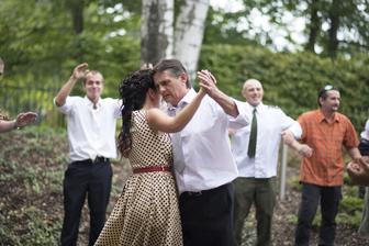 Tanec s tatínkem...:-)