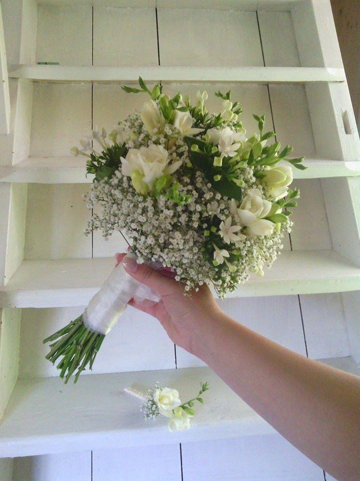 Co a jak jsme chystali...:) - moje svatební...:) a korzáž pro ženicha...:)