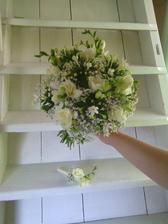 svatební...:) a korzáž pro ženicha..:)
