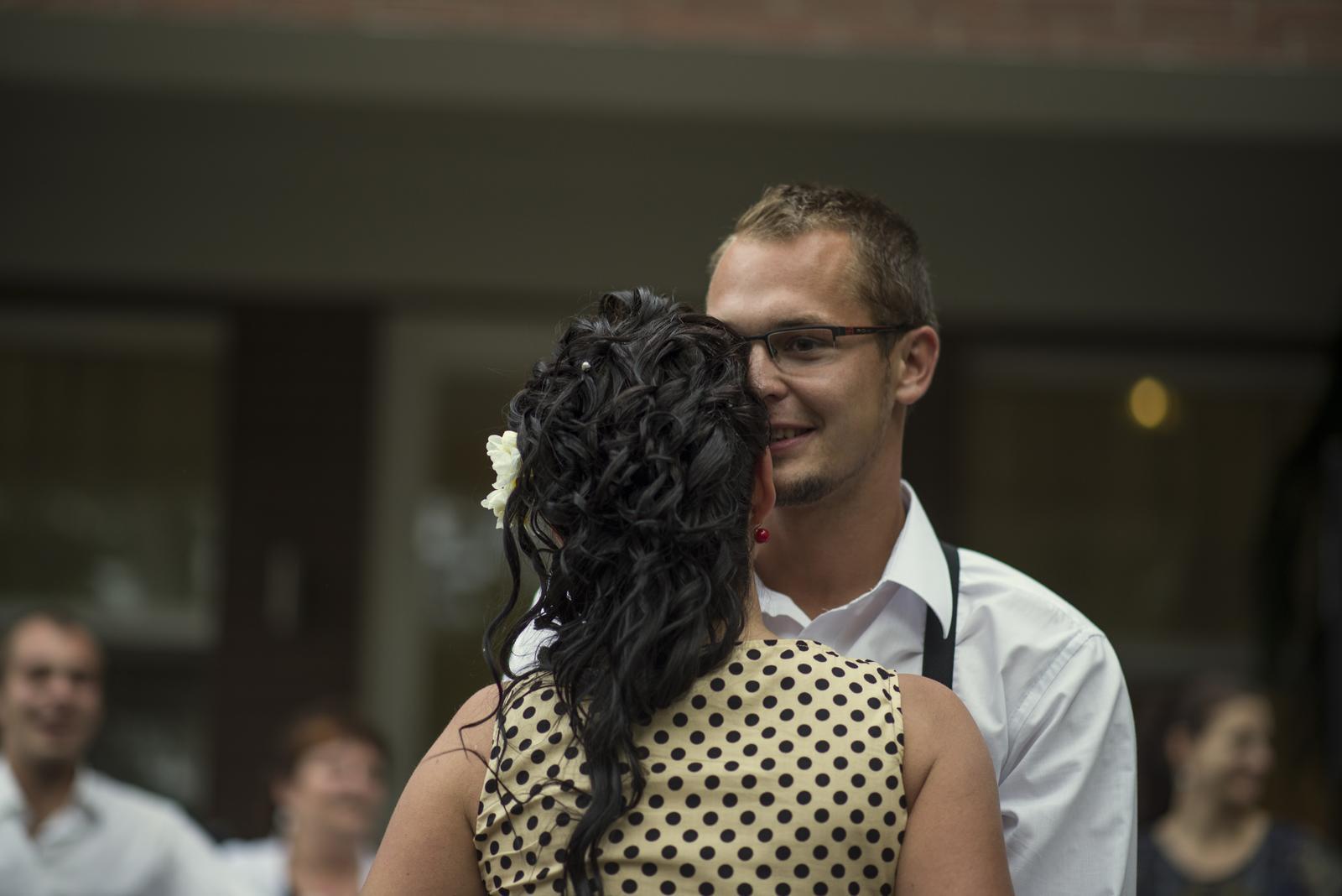 Deniska{{_AND_}}Honzík :) - Náš první tanec - All of me - John Legend..........:) ten pocit štěstí v tu chvíli........! Neskutečný...:) .........Photo Markét - Markéta Benešová