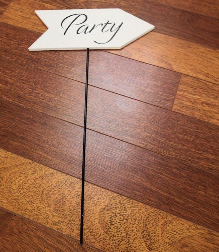 cedule Párty - Obrázek č. 1