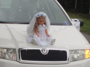 Nevěsty auto.