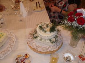 Svatební dort.