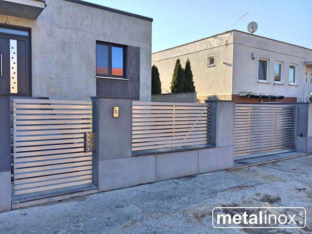 metalinox - Nerezová brána Modern