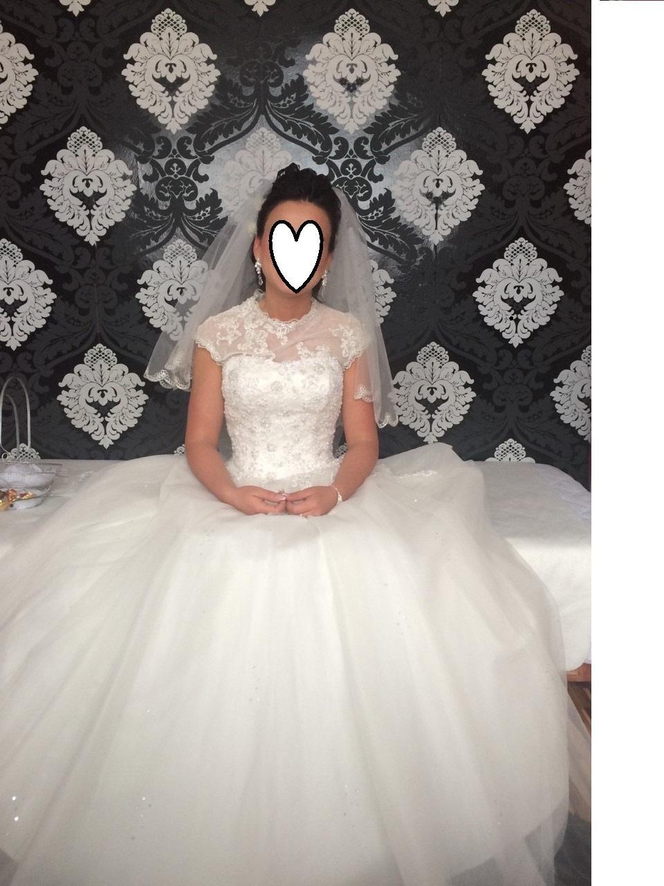 Ponúkam rozprávkové svadobné šaty - Obrázok č. 1
