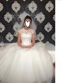 Ponúkam rozprávkové svadobné šaty, 38
