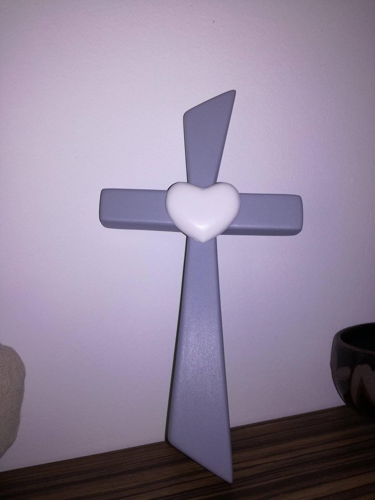 ❤ G&M ❤ - Krížik, najkrajší, náš, navrhnutý presne podľa nášho želanie <3