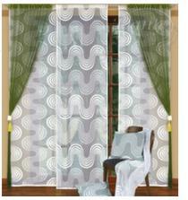 tak tahle záclona bude v obýváku i v kuchyni