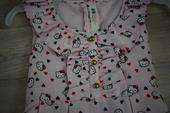 Růžové šaty s Hello Kitty, 128